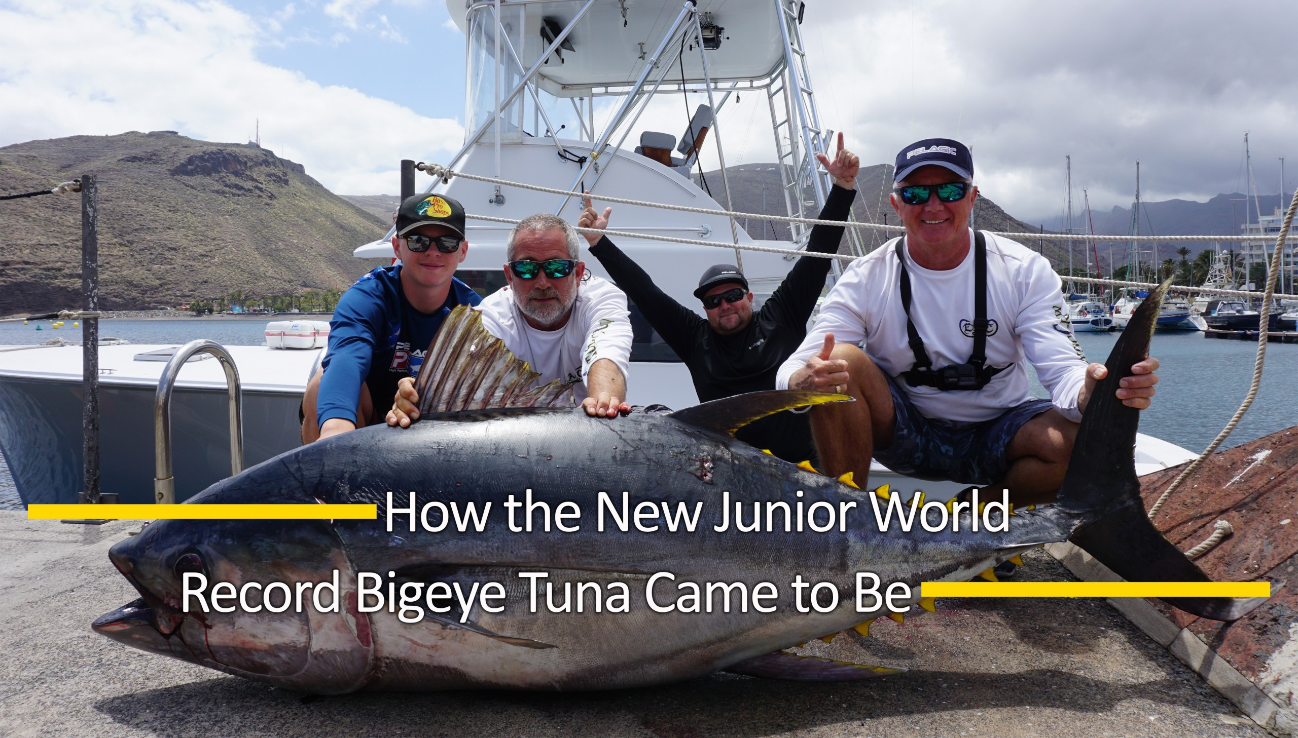 Junior World Record Bigeye Tuna