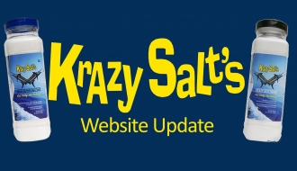 Krazy Salts Website Update