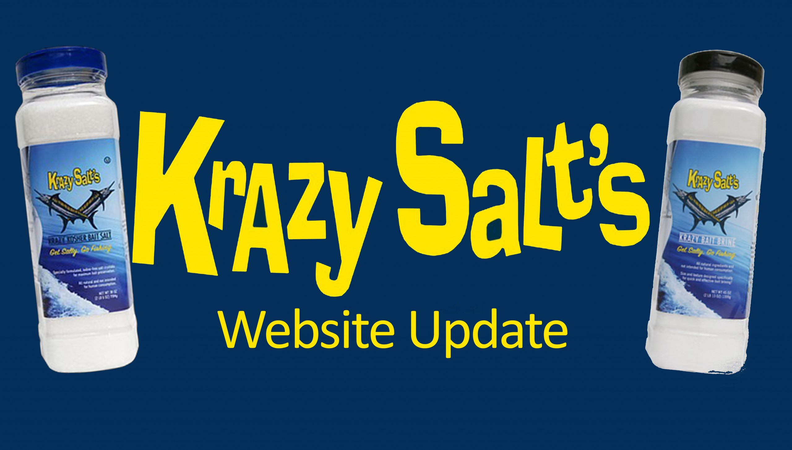 Krazy Salt's Website Update