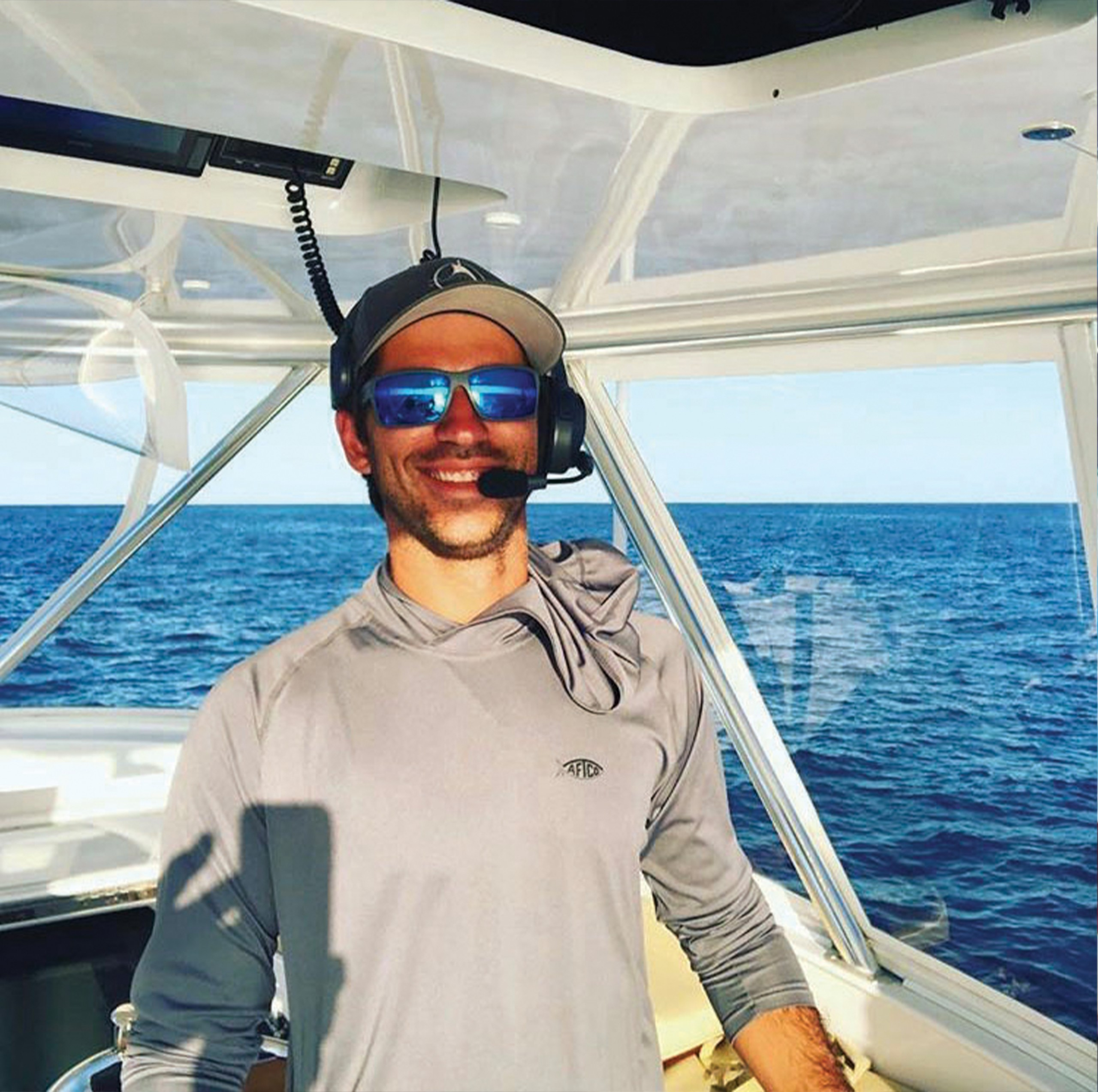 Picture of Captain Alex on his boat