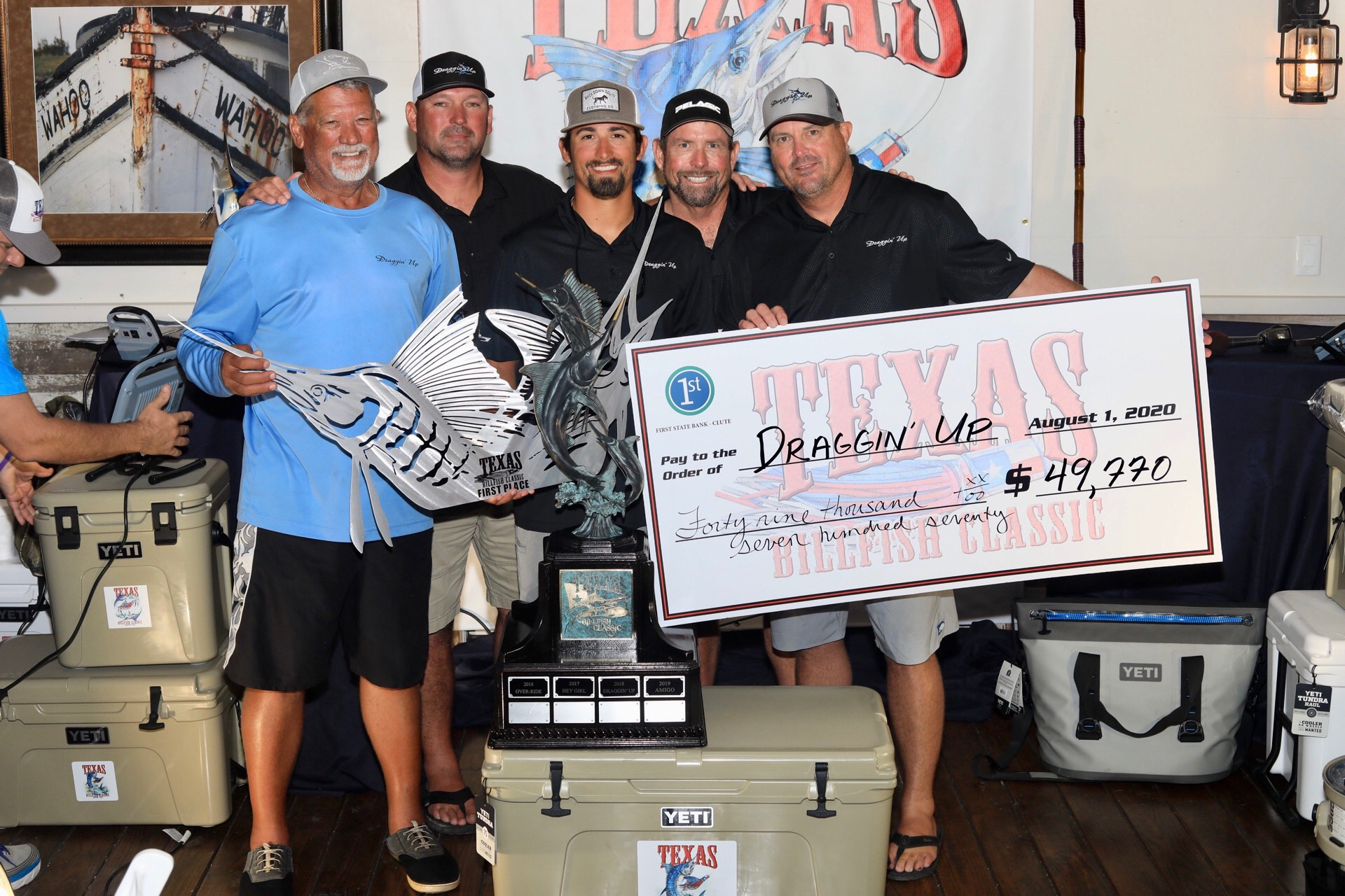 Draggin' Up Takes First at Texas Billfish Classic
