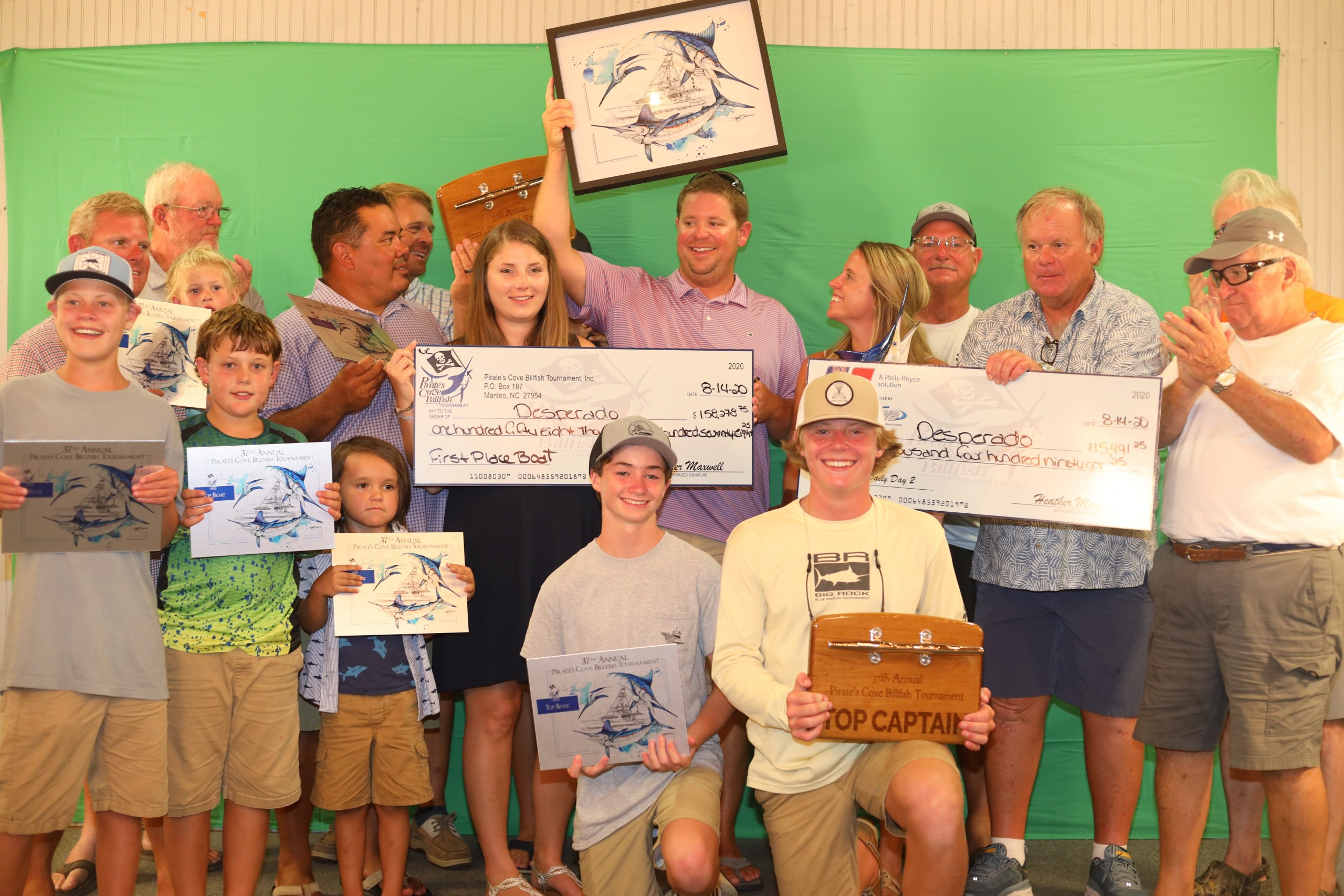 Desperado Repeats as the Top Boat in the 37th Annual  Pirate's Cove Billfish Tournament