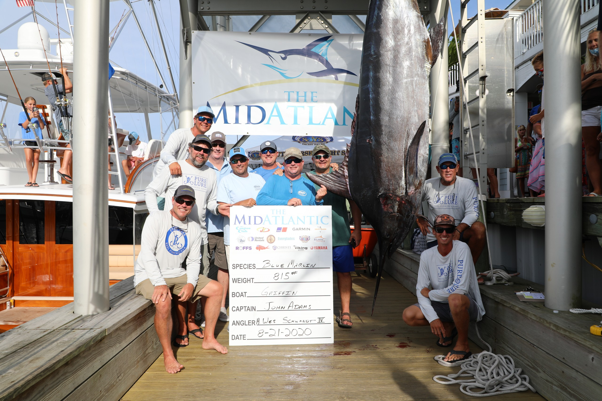 Huge Blue Marlin, Big Tuna Dominate Day Five Weigh-In at MidAtlantic