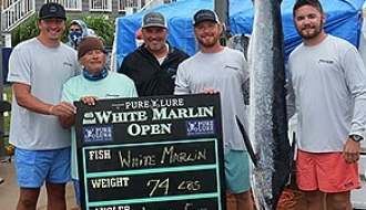 White Marlin Open: Four White Marlin on Day 4