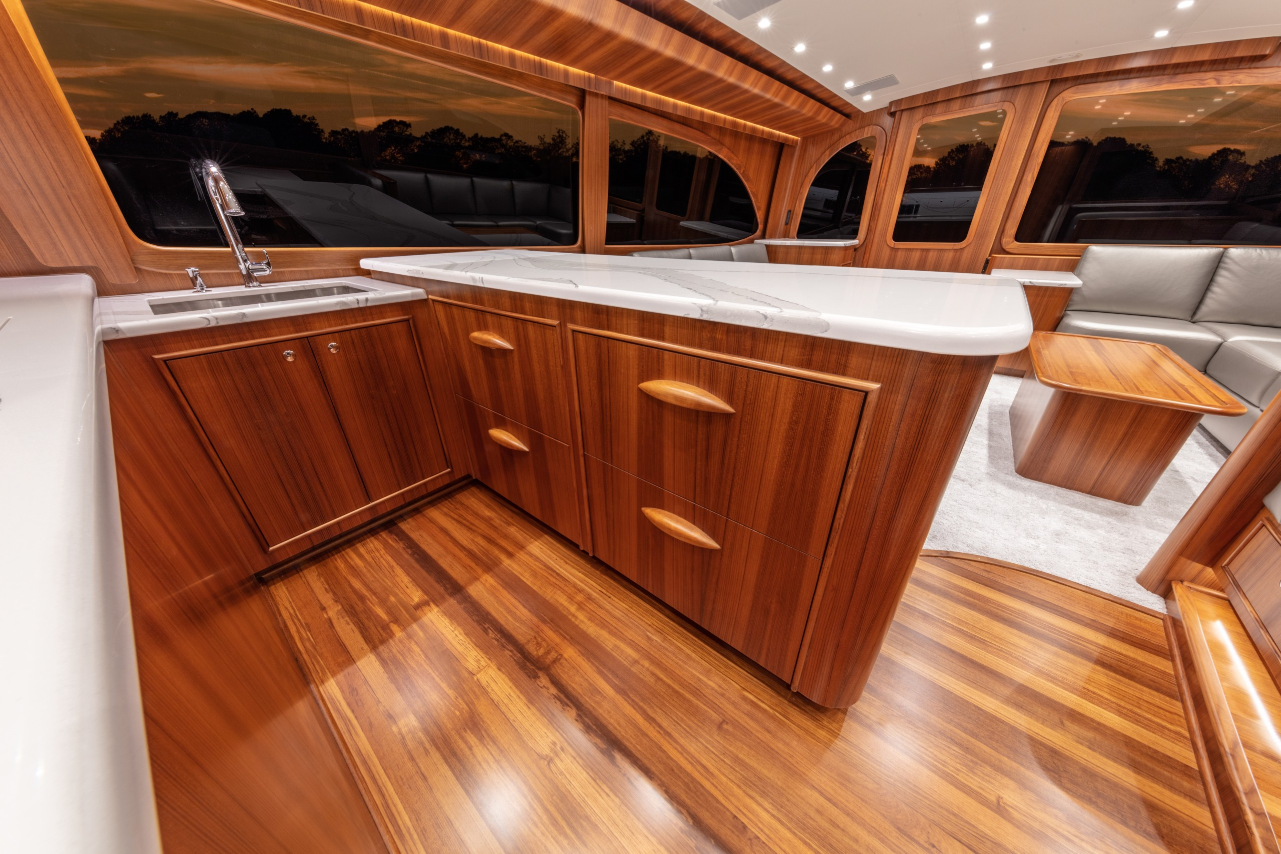 Paul Mann yacht galley
