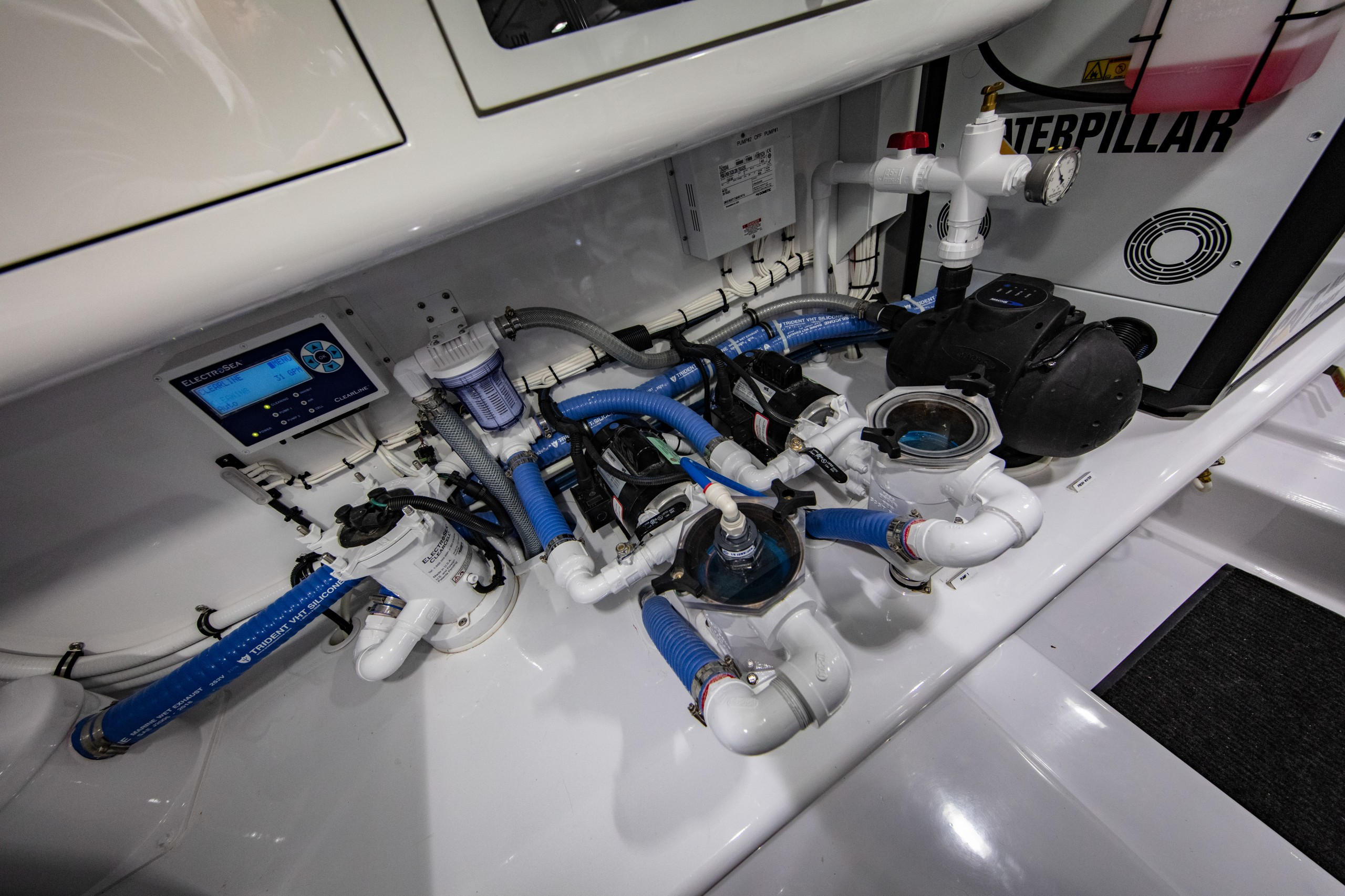yacht engine room
