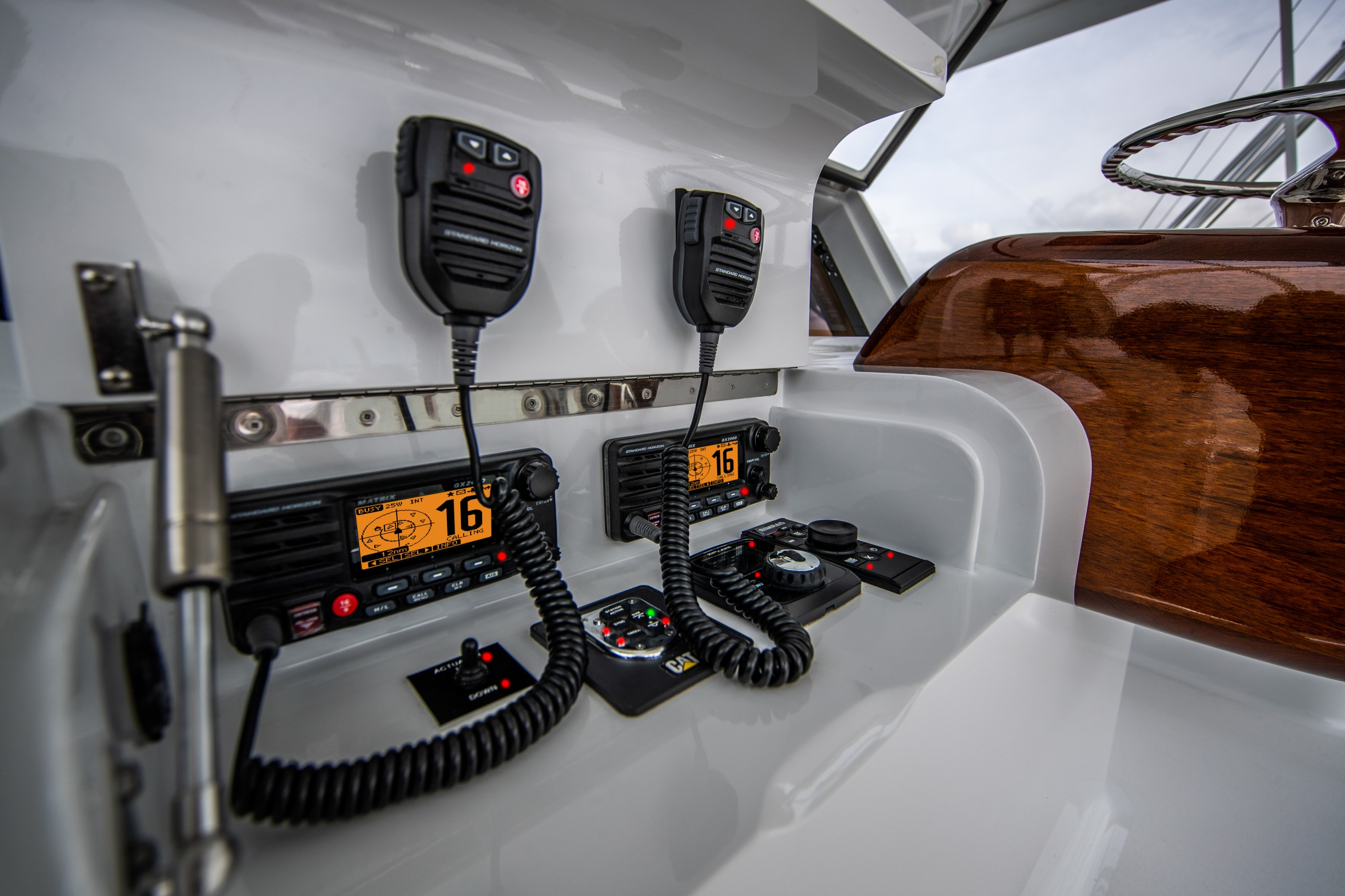 paul mann yacht helm controls