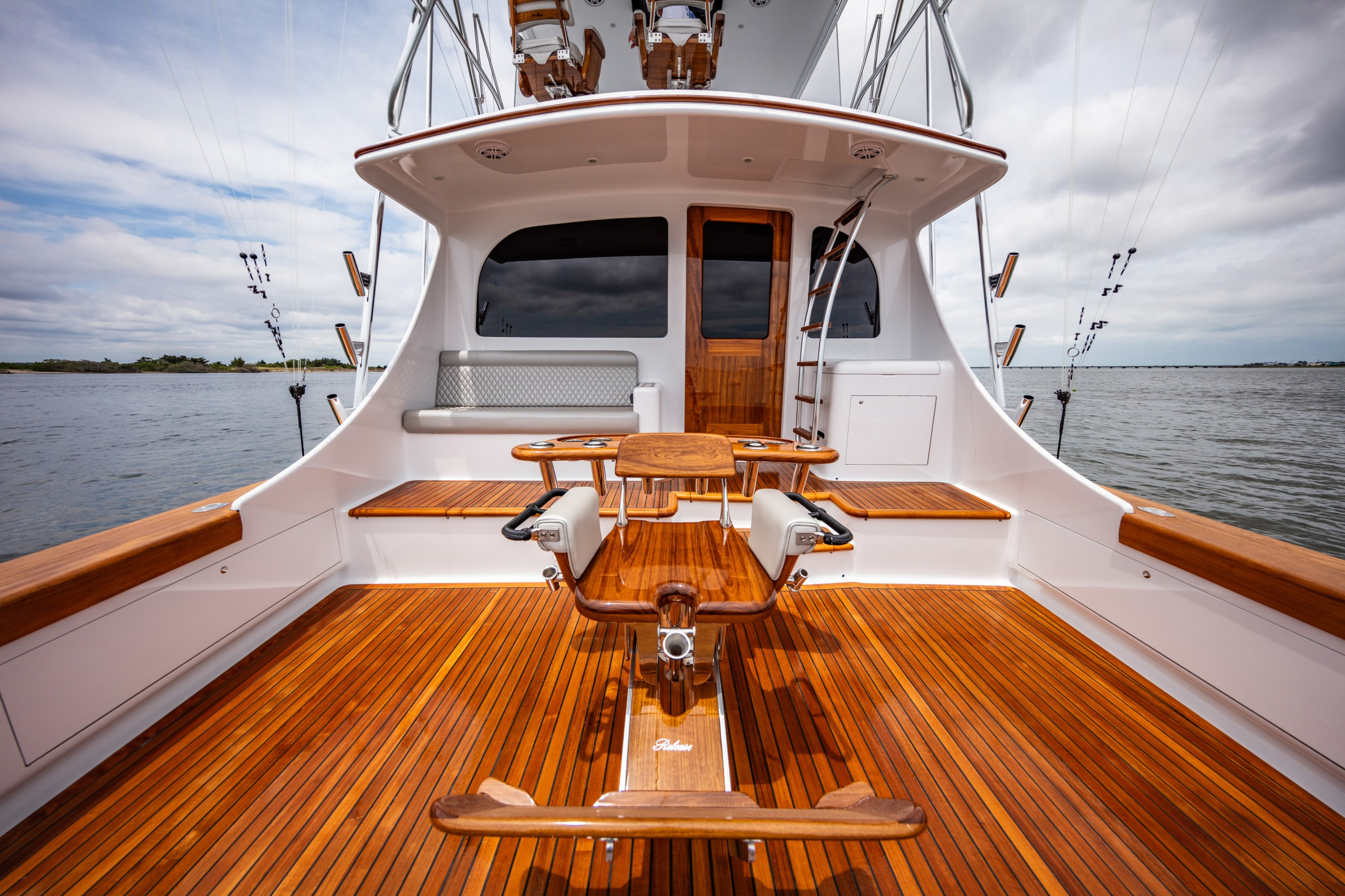 paul mann yacht cockpit