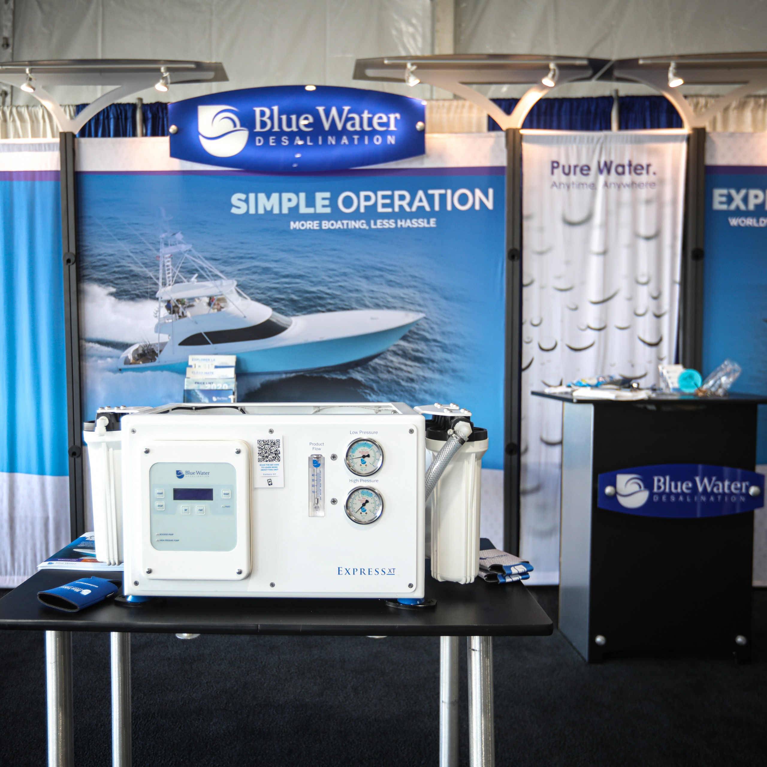 bluewater desalination express watermaker