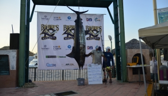 Team Sporty Game Brings in Largest Marlin at Bisbee's Los Cabos Offshore Tournament