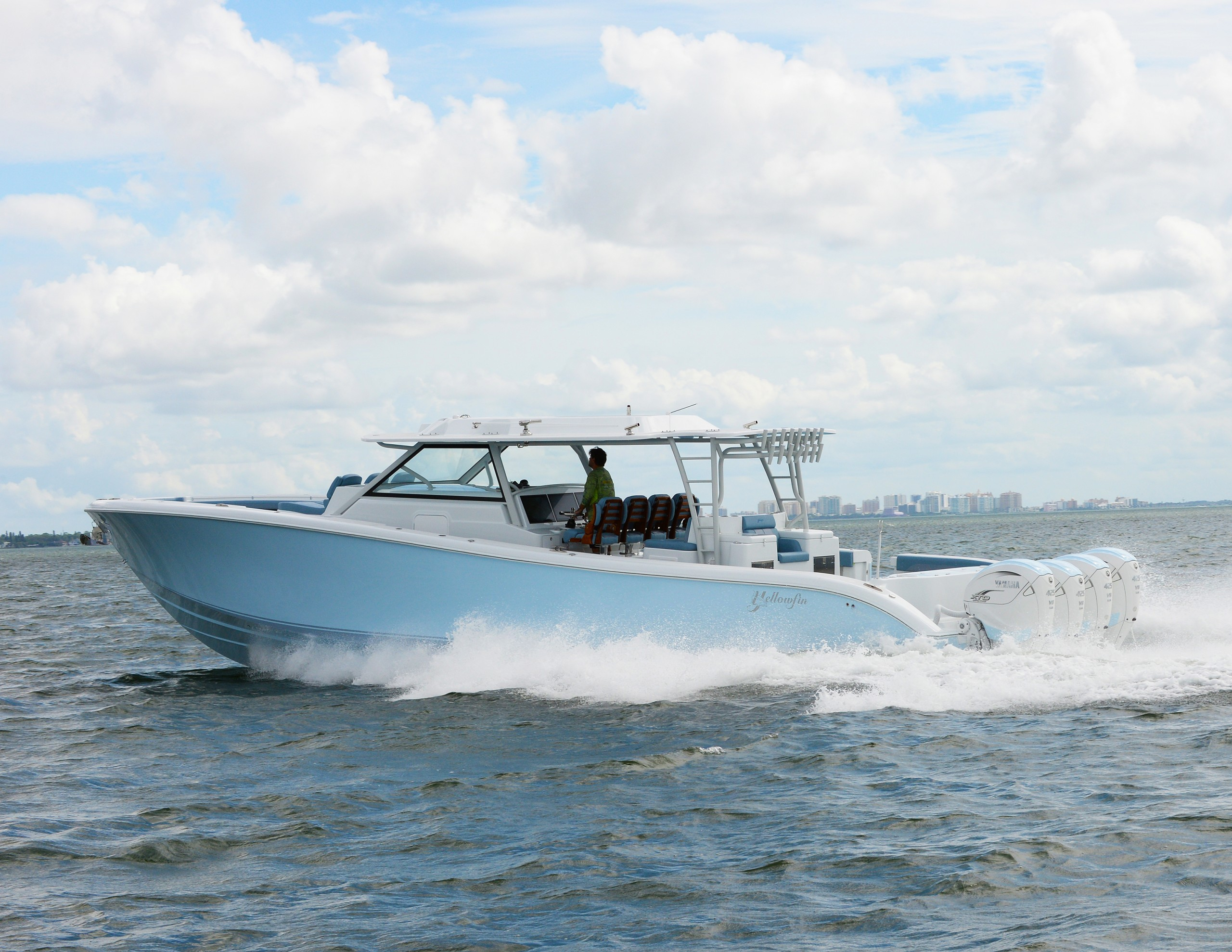 Yellowfin's New 54 Offshore Debuting at Fort Lauderdale International Boat Show