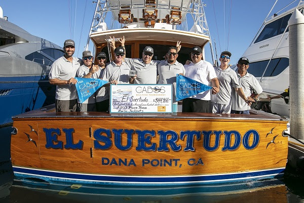Team El Suertudo Repeats as Winner of the 2020 Los Cabos Billfish Tournament