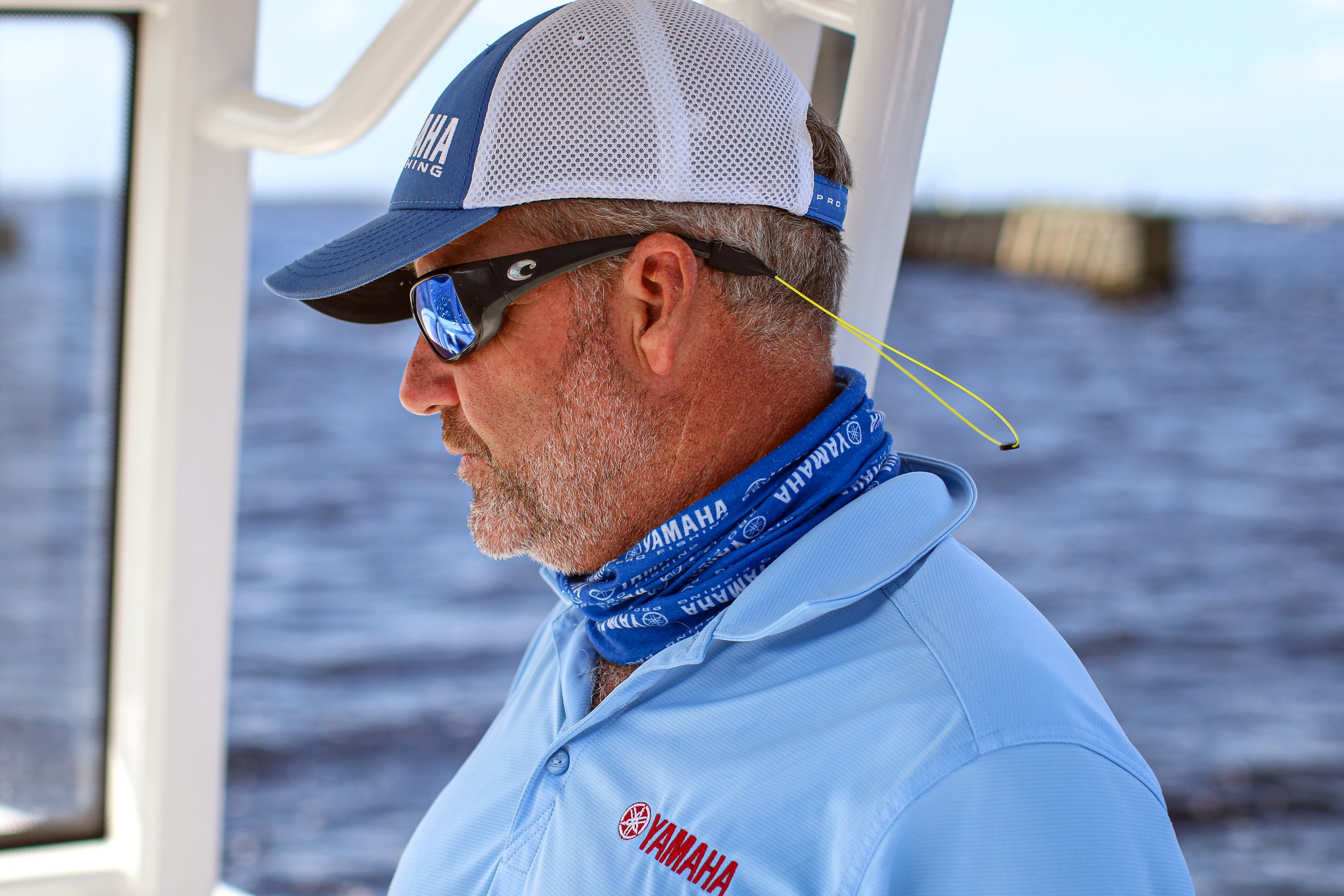 captain sean gill of yamaha pro staff