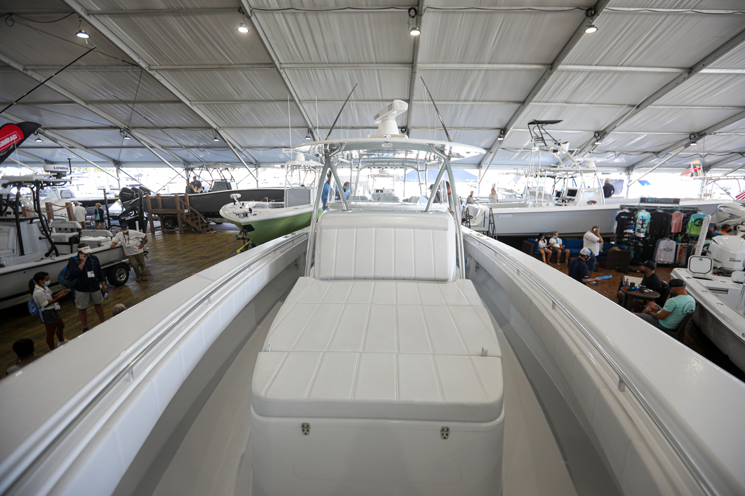 contender 44fa at fort lauderdale boat show