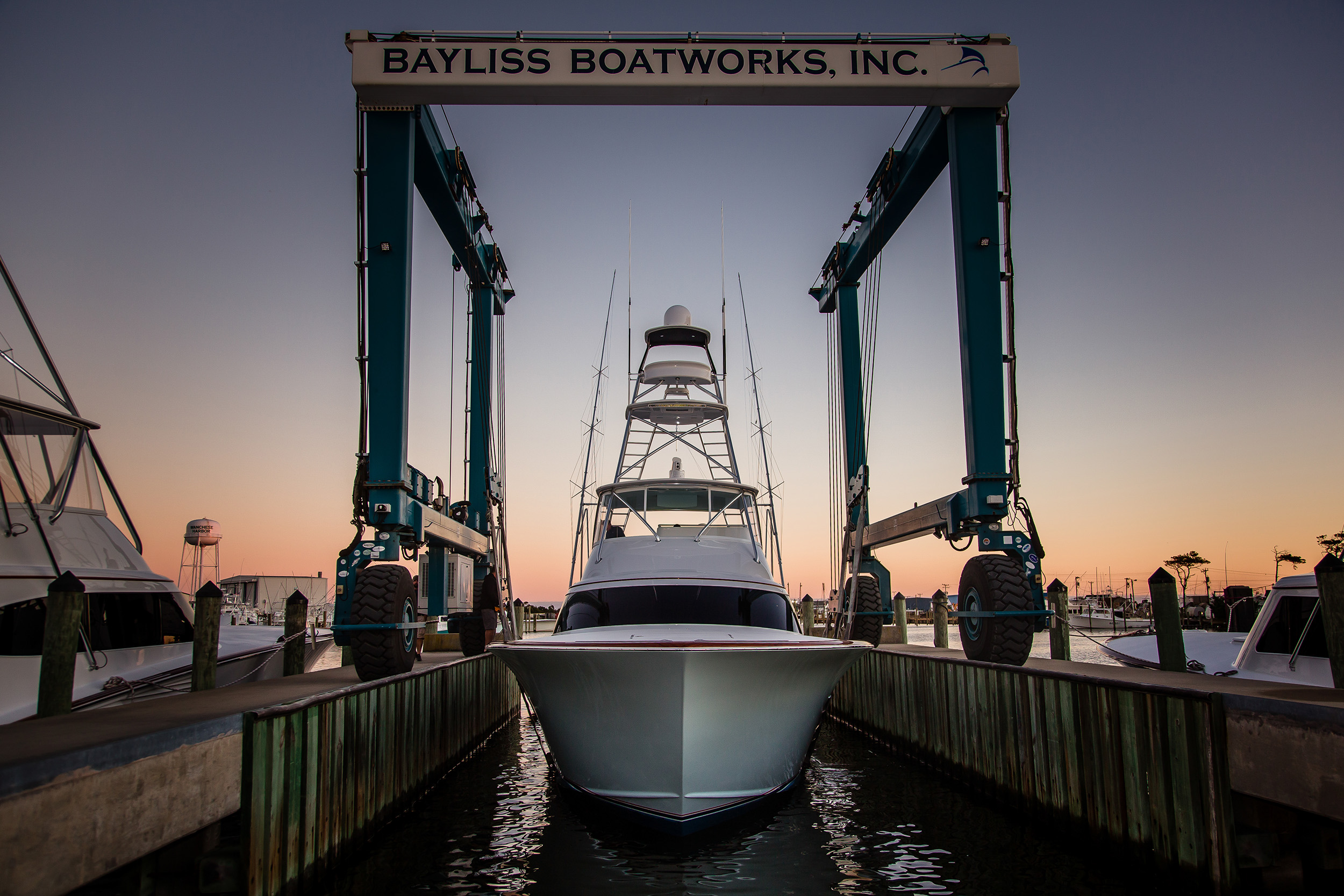 bayliss boatworks Seven Bow
