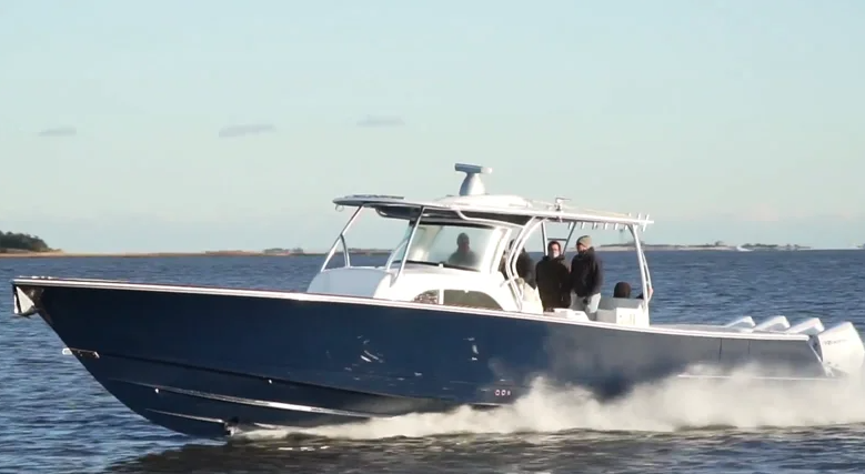Watch the V-46 Sea Trial