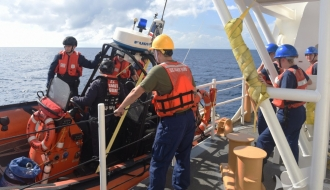 U.S. Coast Guard Operation Set Up to Combat Illegal, Unreported, and Unregulated Fishing in South Atlantic