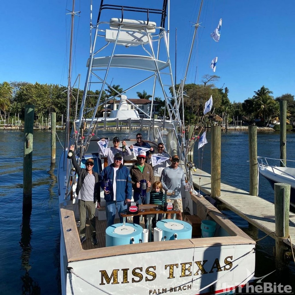 miss texas team at silver sailfish derby