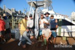 fishing team with marlin