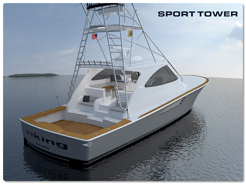 viking sport tower rear