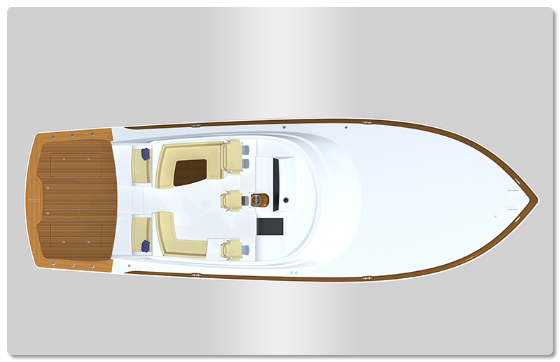 viking yachts new boat rendering