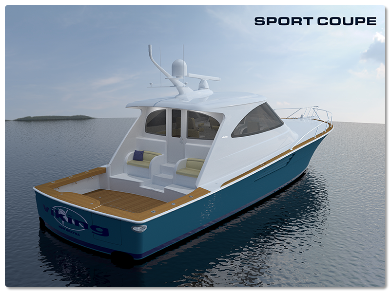 viking yachts sport coupe
