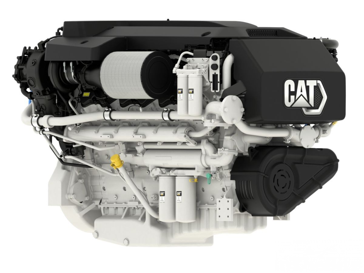 Caterpillar Marine Releases the CAT C32B 2433 MHP Triple Turbo Marine Engine