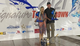 Maria Magalhaes Becomes First Female to Win Top Series Angler at Signature Triple Crown