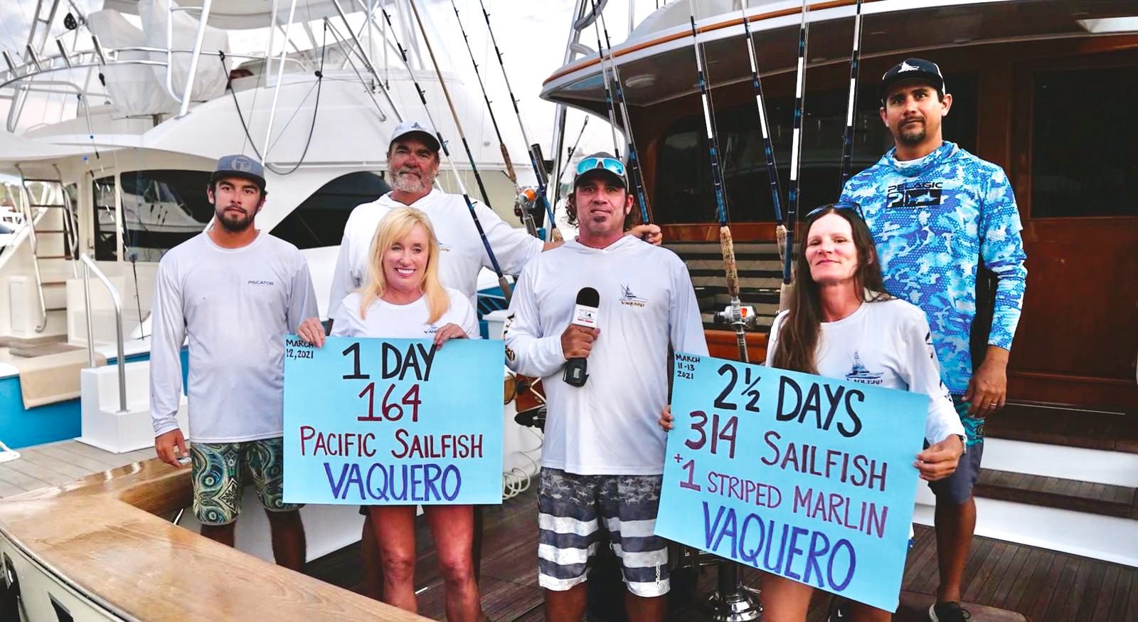 Vaquero's Pacific Sailfish Single-Day Release Record