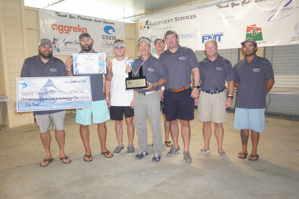 Fleur de Lis Takes Takes First Place Blue Marlin at Cajun Canyons Billfish Classic