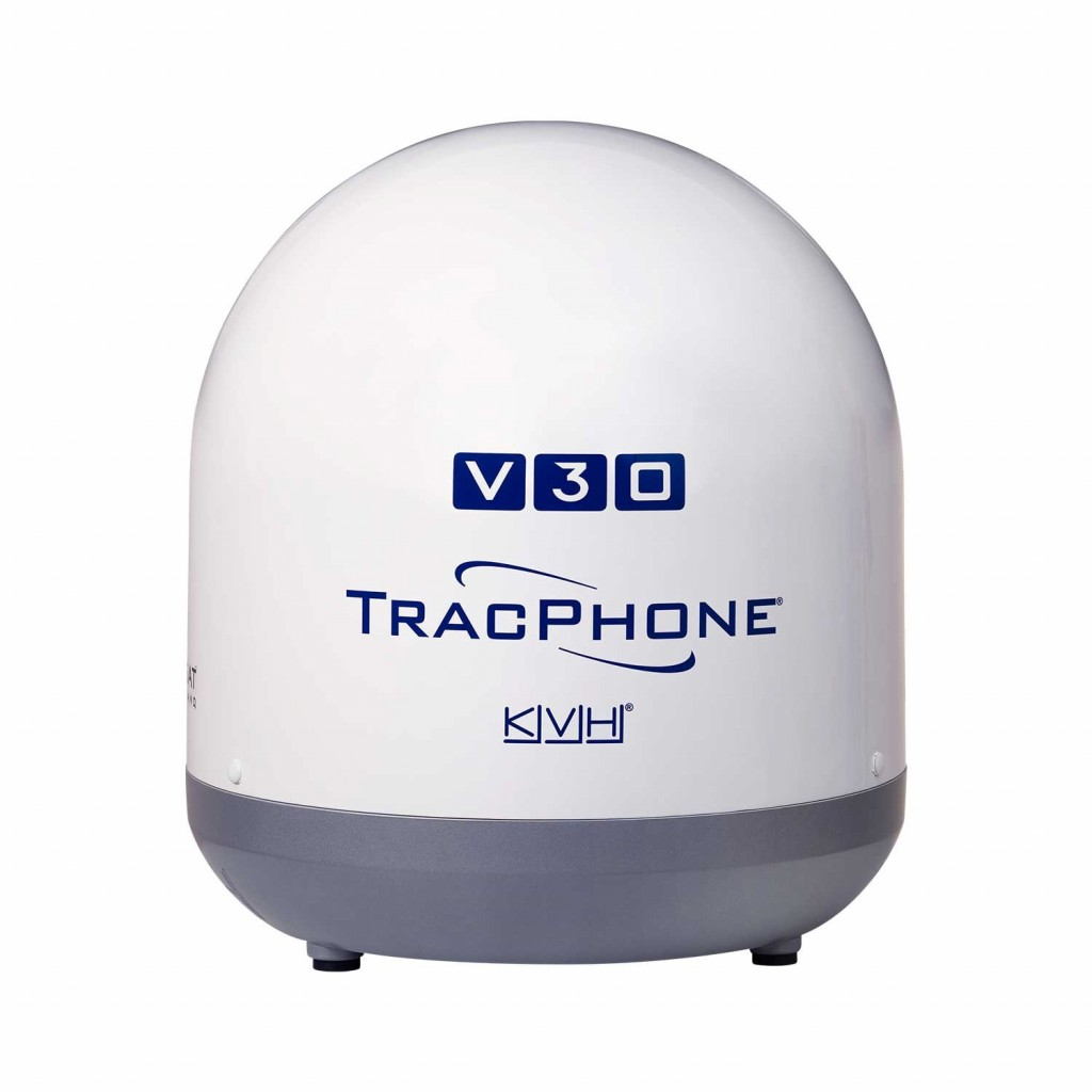 KVH Introduces TracPhone LTE-1 Global Cellular Marine Communications Solution for Offshore Internet Access
