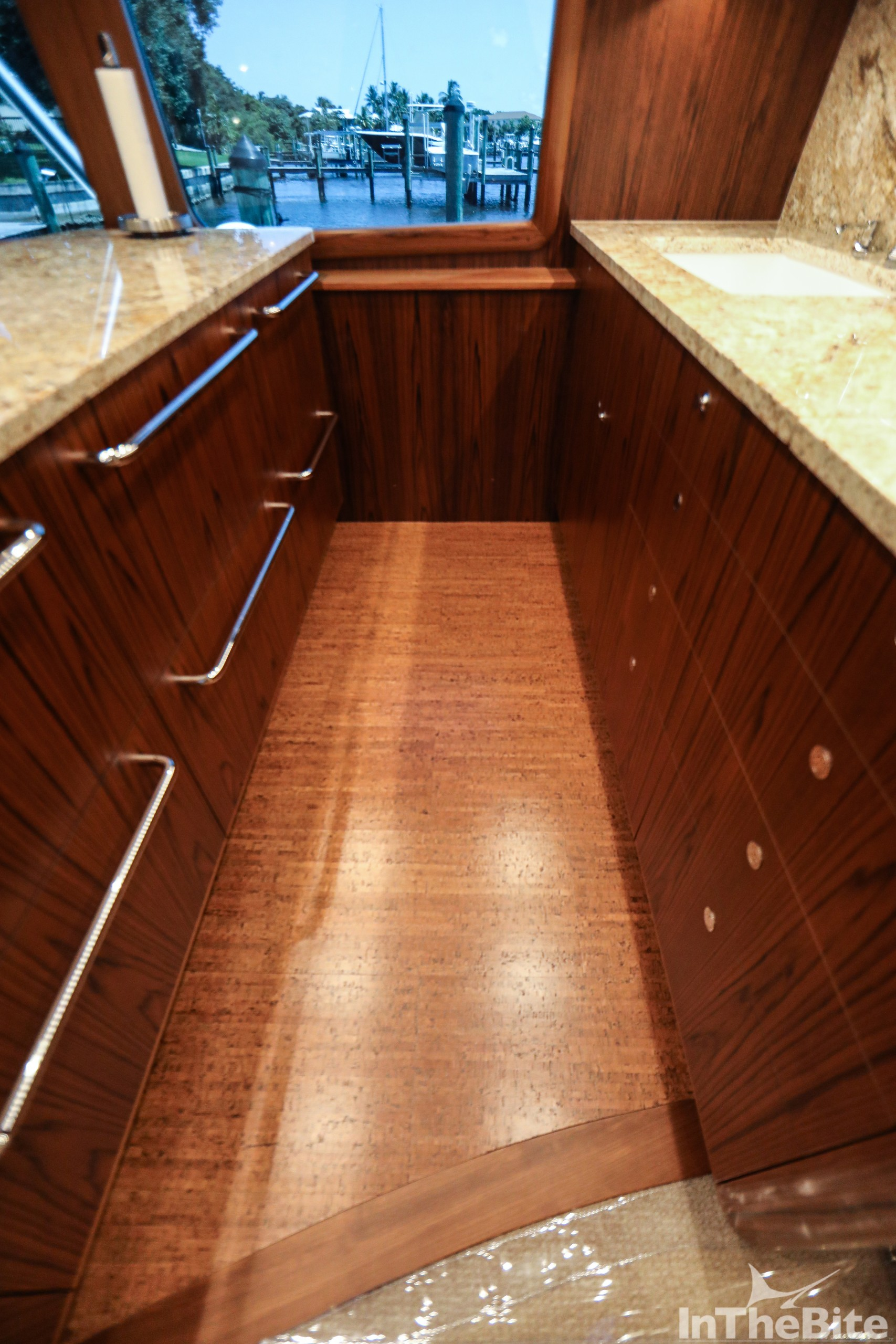 Galley floor of the 72 bayliss