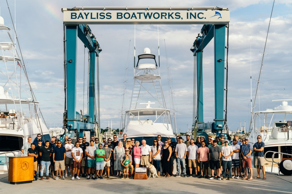 Bayliss Boatworks Delivers 72' Old Reliable