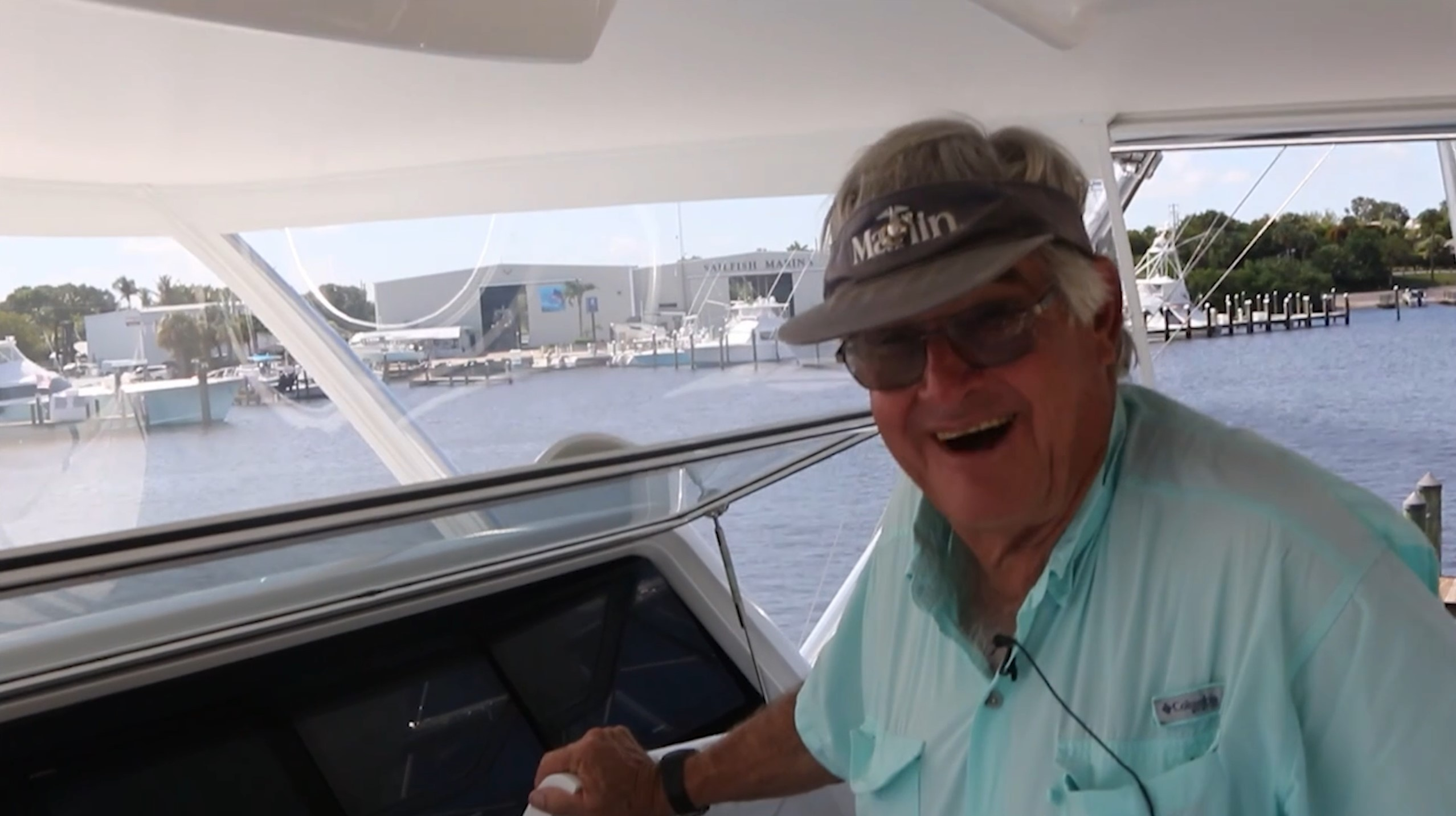 New 72' Bayliss Old Reliable—Capt. Chip Shafer Bridge Layout