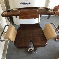 nice Full Size Bluewater Fighting Chair with Rocket Launcher