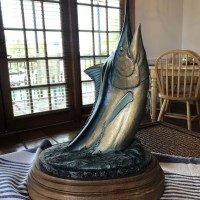 SOLD Kent Ullberg Blue Marlin Original Bronze