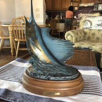 Sold Kent Ullberg Sailfish Sculpture